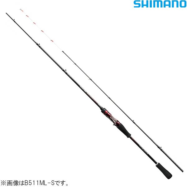 シマノ 19 セフィアSS・メタルスッテ B511ML-S (イカメタル ロッド)
