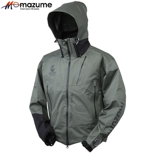 オレンジブルー マズメ/mazume レッドムーンウェーディングショートジャケット MZRJ-352 アーミーグリーン (レインウェア レインジャケット)
