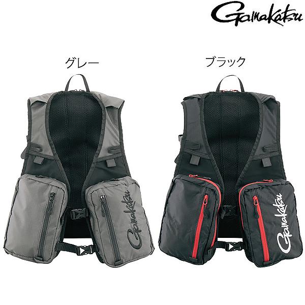 がまかつ リュックベスト GM-2489 (フィッシングベスト)
