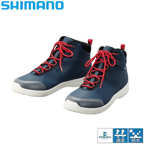 シマノ ドライシールド デッキラジアルシューズ HC ディープブルーアイボリー FS-061Q (フィッシングシューズ 釣り)