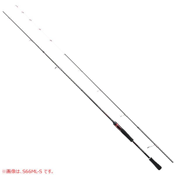 シマノ 19 セフィアSS ティップエギング 66ML-S (ティップラン エギングロッド・イカメタルロッド)