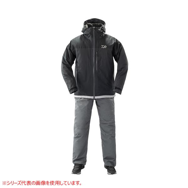 ダイワ レインマックス エクストラ ハイロフト ウィンタースーツ ブラック DW-3209 (防寒着 上下セット 釣り)