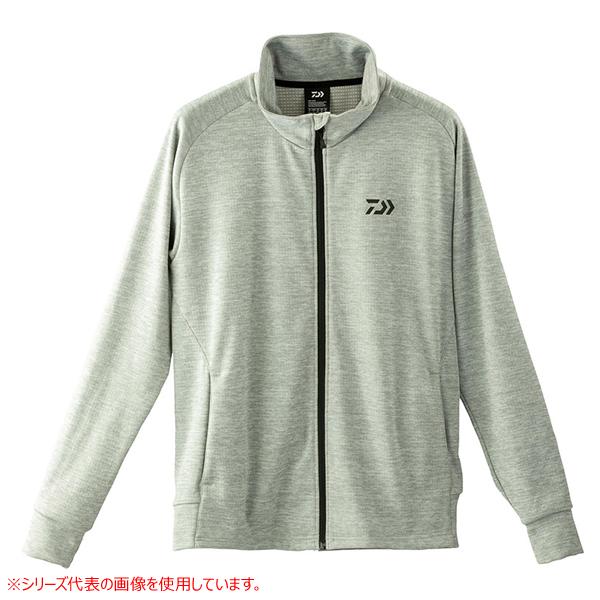 ダイワ ブレスマジック ライトジャケット グレー DE-87009J (防寒着 防寒ミドラー)