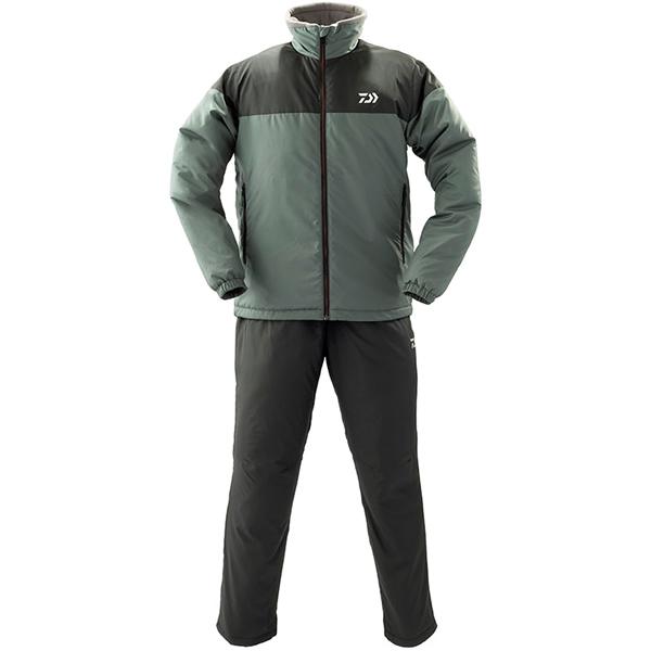 ダイワ ウォームアップスーツ ガンメタル DI-52009 (防寒着 防寒ミドラー)