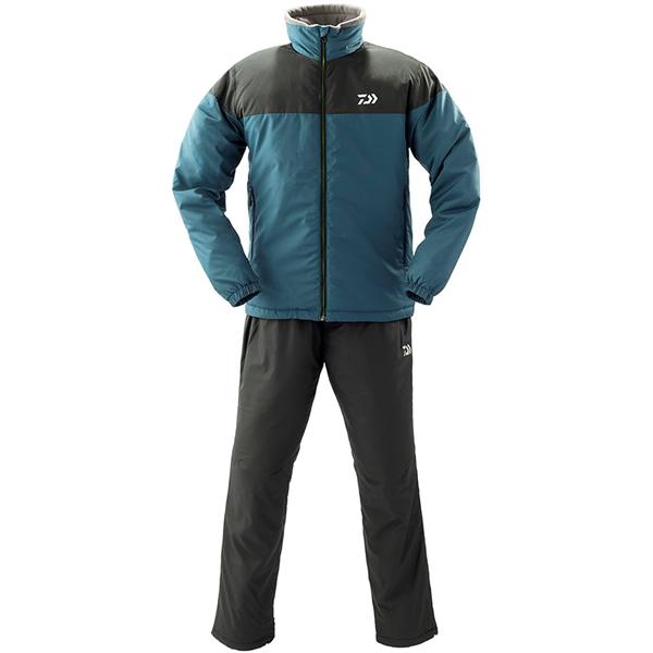 ダイワ ウォームアップスーツ スモークネイビー DI-52009 (防寒着 防寒ミドラー)