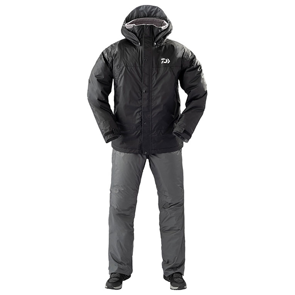 ダイワ レインマックス ウィンタースーツ ブラック DW-35009 (防寒着 上下セット 釣り)