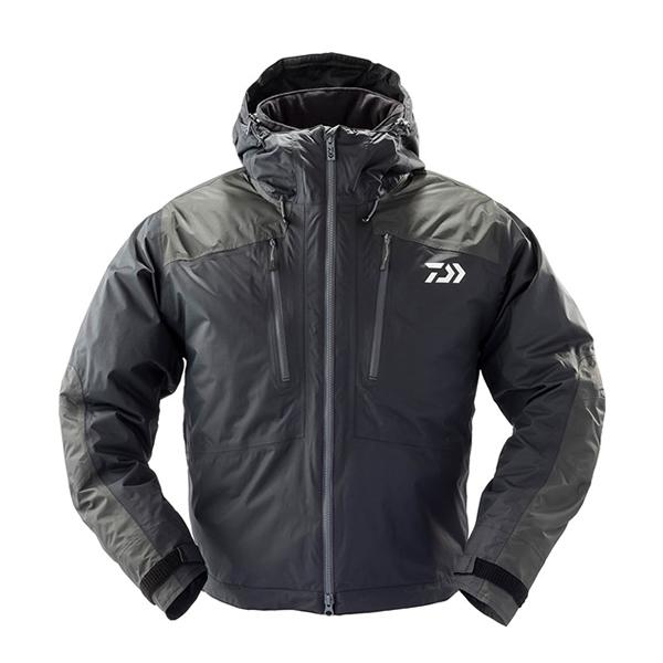 ダイワ レインマックス ウィンタージャケット ショート丈 ブラック DW-37009J (防寒着 防寒ジャケット 釣り)