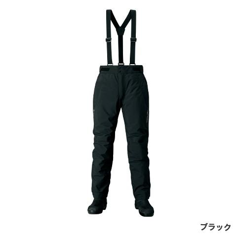 シマノ GORE-TEX エクスプローラーウォームパンツ ブラック RB-01PS (防寒着 防寒パンツ)