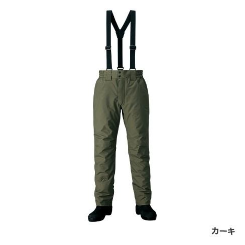 シマノ DSエクスプローラーウォームパンツ カーキ RB-04PS (防寒着 防寒パンツ)