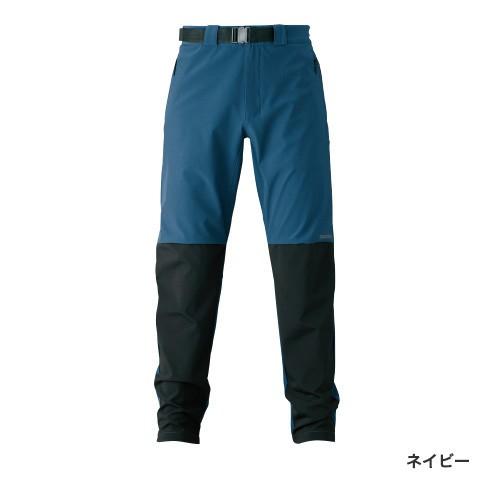 シマノ 防風ストレッチパンツ ネイビー WP-045S (防寒着 防寒ミドラー)