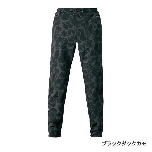 シマノ XEFO DURAST ジョガーパンツ ブラックカモ WP-225S (防寒着 防寒ミドラー)