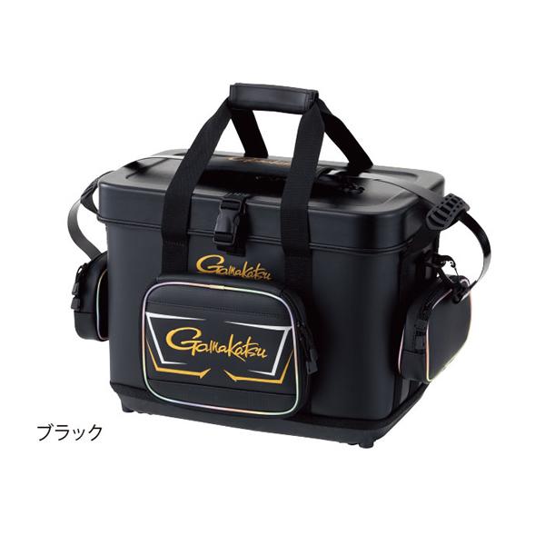 がまかつ がま磯タックルバッグ 28L ブラック GB-386 (磯クールバッグ)