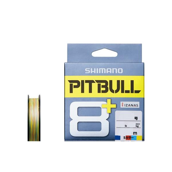 シマノ ピットブル8+ 10m×5カラー 200m 本日限定 LD-M61T 通販ならフィッシング遊web店におまかせ PEライン など ハイクオリティ 釣り具の販売