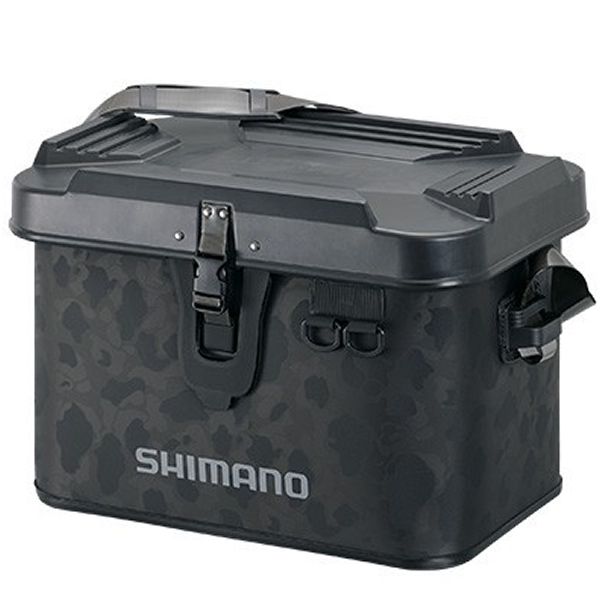 シマノ 送料無料激安祭 タックルボートバッグ 販売期間 限定のお得なタイムセール ハードタイプ 32L ブラックダックカモ 釣り具の通販ならフィッシング遊web店 BK-001T EVAバッグ