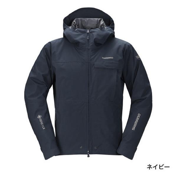 シマノ GT エクスプローラーウォームジャケット ネイビー RB-01JS (防寒着 防寒ジャケット 釣り)
