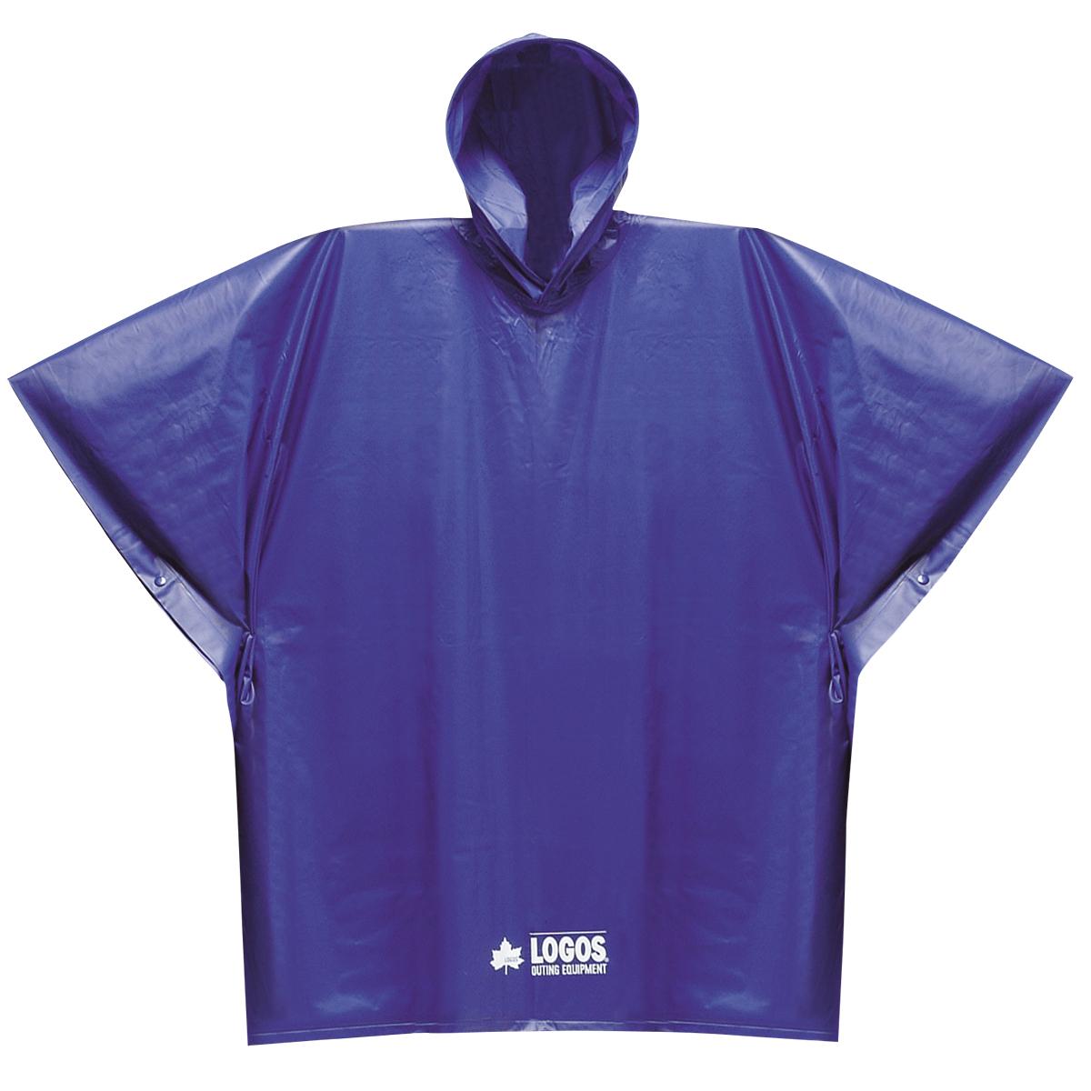 ロゴス PVCポンチョジュニア 通信販売 ブルー 日本最大級の品揃え 85001 など 釣り具の販売 子供用 通販ならフィッシング遊web店におまかせ フリー レインウエア レインポンチョ