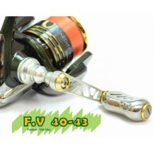 メガテック リブレ スピニングシングルハンドル F.V 40-43 シマノS2用 FV40-43S2