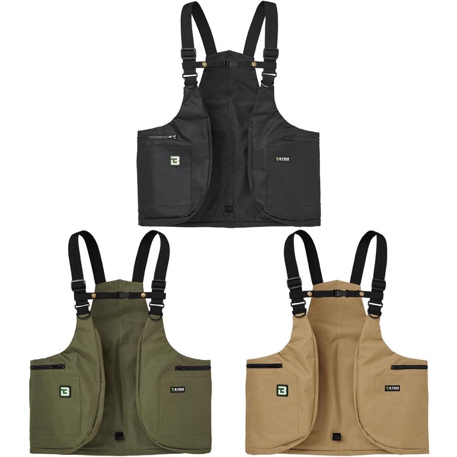 釣具のことならフィッシング遊 エバーグリーン B-トゥルー フィッシングベスト 保障 入手困難 ウェアラブルバッグ