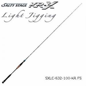 アブガルシア ソルティステージ KR-X ライトジギング SXLC-632-100-KR FS (大型商品A)