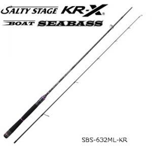 アブガルシア ソルティステージ KR-X ボートシーバス SBS-632ML-KR(スピニングモデル)