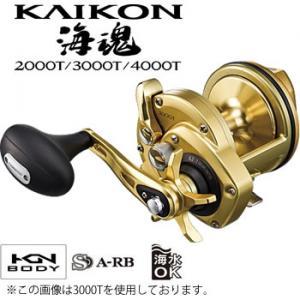 【送料無料】 シマノ 海魂(KAIKON) 2000T (石鯛リール)