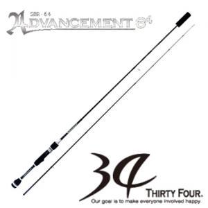 34 アドバンスメント SBR-64 (メバリングロッド)