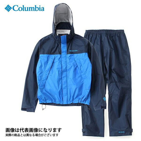 【コロンビア】シンプソンサンクチュアリレインスーツ L 425コロンビアネイビー(PM0124)