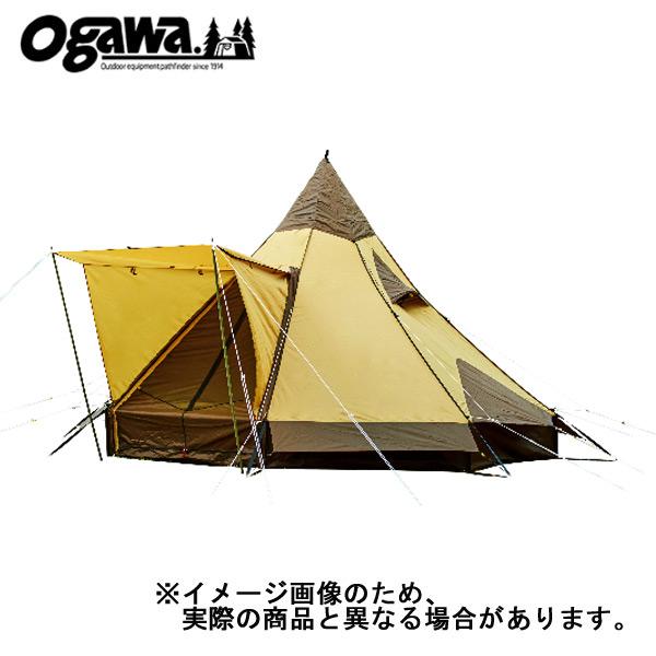 【小川キャンパル】ピルツ12 ブラウン×サンド [大型便](2725)テント 小川キャンパル テント キャンプ