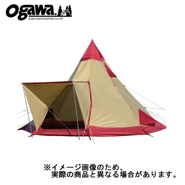 【小川キャンパル】ピルツ12 レッド [大型便](2725)テント 小川キャンパル テント キャンプ