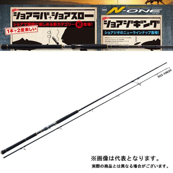 【メジャークラフト】エヌワン [ ブラッギング モデル ] NSS-1002PLG [大型便]エヌワン ショアジギング ショアジギ ロッド