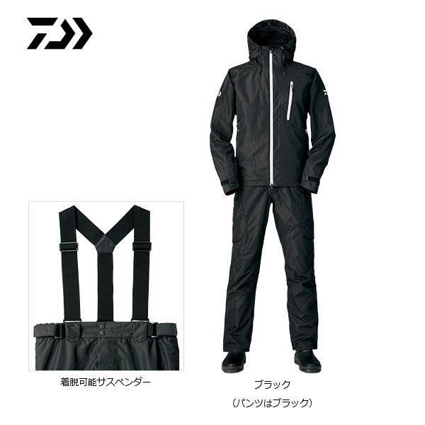 D3-3105 レインマックス ハイパー D3バリアスーツ ブラック/XL ダイワ 釣り 防寒着 防寒ウェア
