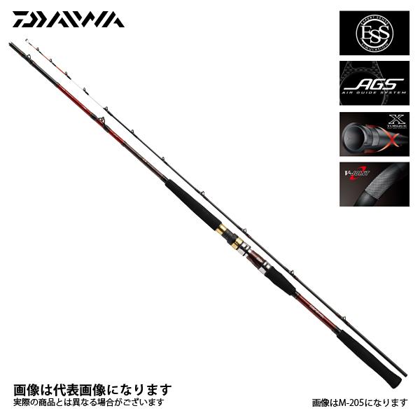 【ダイワ】極鋭ギア M-205 AGS船竿 ダイワ DAIWA ダイワ 釣り フィッシング 釣具 釣り用品