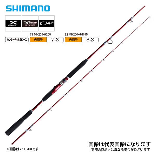 【シマノ】バンディット 中深場 82MH200 [大型便]