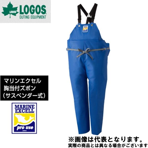 ファッション 【ロゴス】マリンエクセル 胸当付ズボン膝当て付(サスペンダー式) 4L 4L ブルー(12063159), フジオカシ:b456c507 --- ifinanse.biz