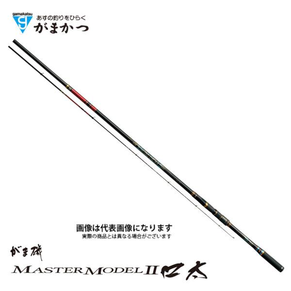 【がまかつ】がま磯 マスターモデルII 口太 M 5.3M