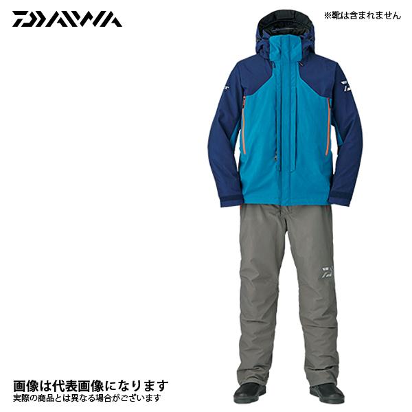 DW-1807 ゴアテックス プロダクト ウィンタースーツ メディバルブルー L ダイワ 釣り 防寒着 上下セット 防寒