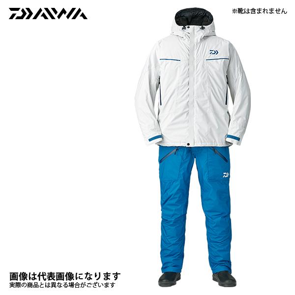 DW-3207 レインマックス エクストラハイロフト ウィンタースーツ ライトグレー 3XL ダイワ 釣り 防寒着 上下セット 防寒