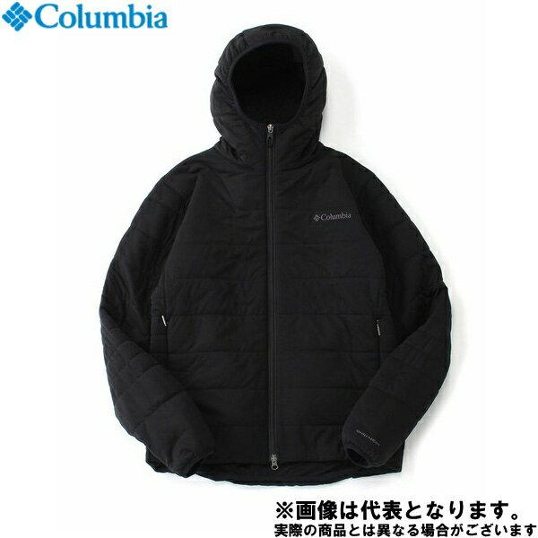 ◆サンタフェパークフーディー L 010 Black PM3219 コロンビア アウトドア 防寒着 2017秋冬モデル 防寒ウェア