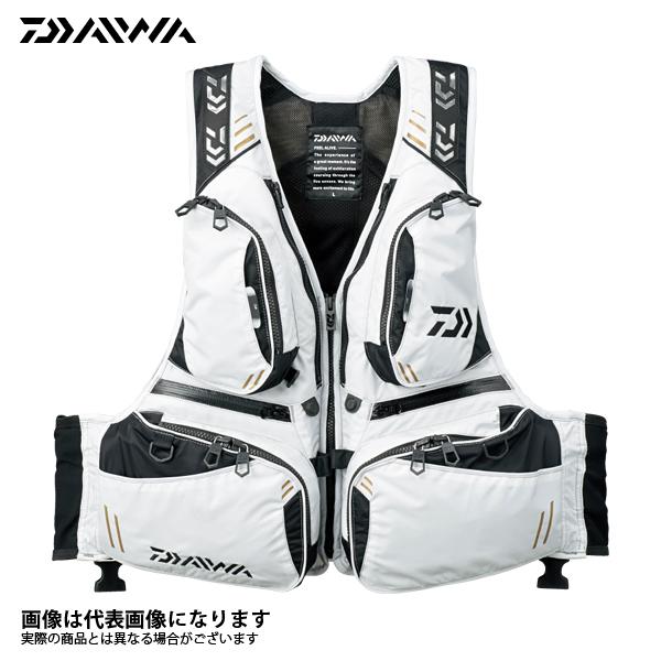 【ダイワ】DF-3607 フローティングベスト ライトグレー XLフローティング ベスト