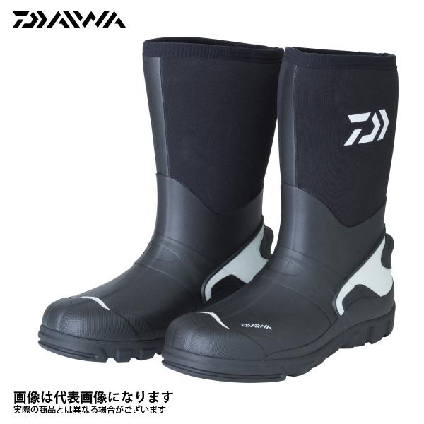 【ダイワ】WB-3301 ウォームアップブーツ ブラック S 24.5釣り 長靴 スパイク ダイワ