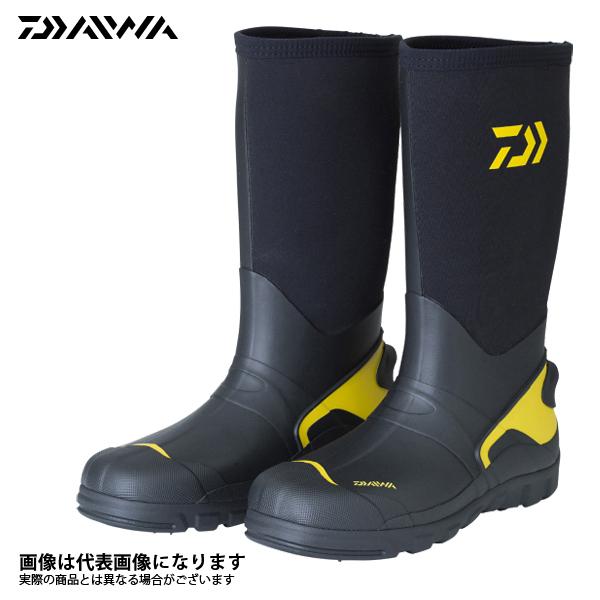 【ダイワ】WB-3101 ウォームアップブーツ ブラック L 26.5釣り 長靴 スパイク ダイワ