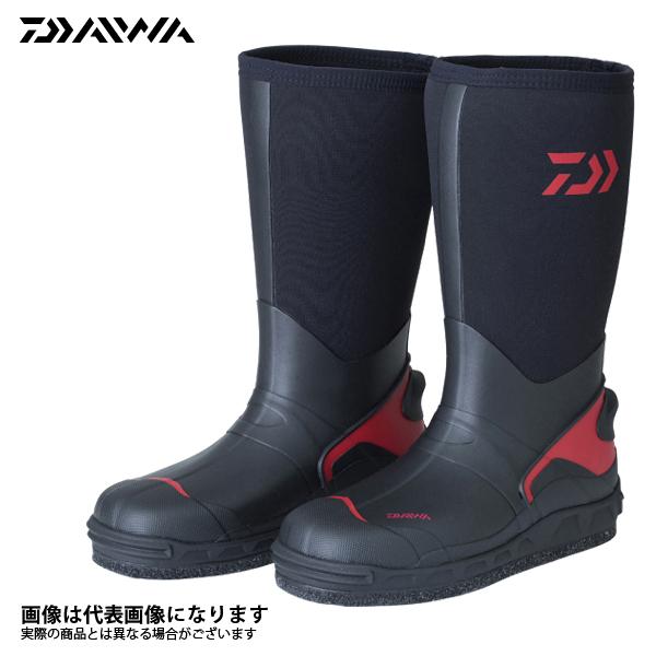 【ダイワ】WB-3501 ウォームアップブーツ ブラック 3L 28.5釣り 長靴 スパイク ダイワ