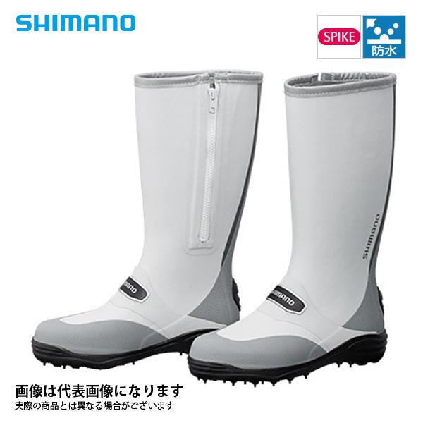 【シマノ】FB-001Q スパイクブーツ グレー 3L