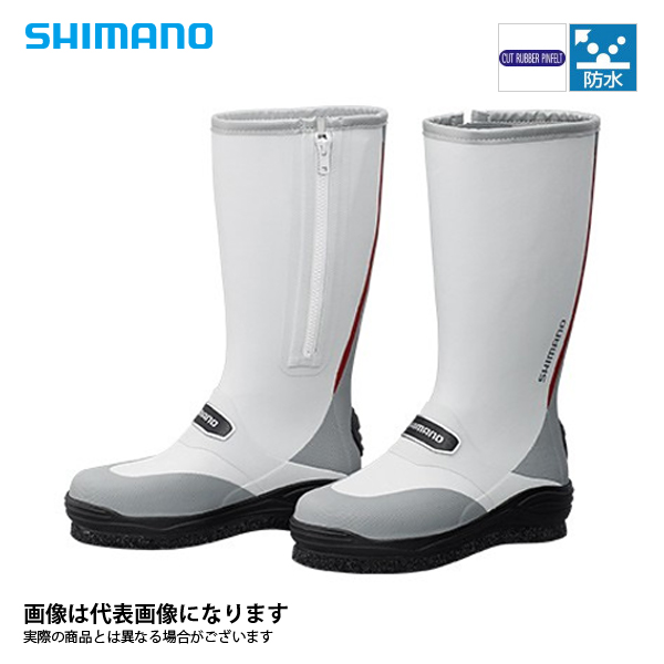 【シマノ】FB-031Q カットラバー ピンフェルトブーツ レッド L