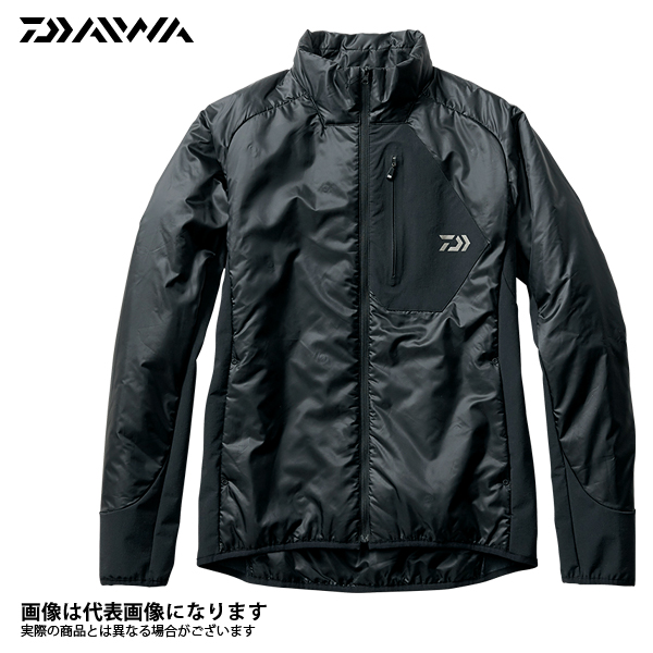 DJ-2407 プリマロフト インナージャケット ブラック L ダイワ 釣り 防寒着 ジャケット 防寒