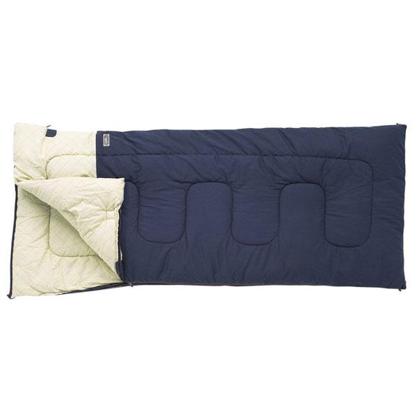 【小川キャンパル】フィールドドリームDX-3 プルシアンブルー(1038-50)寝袋 シュラフ 封筒型シュラフ 小川キャンパル シュラフ