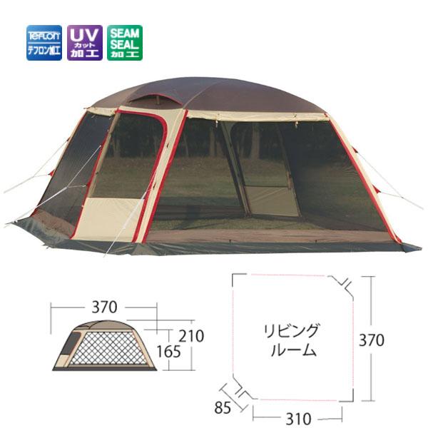 【小川キャンパル】ドームシェルターラナ(3353)タープ 小川キャンパル タープ キャンプ