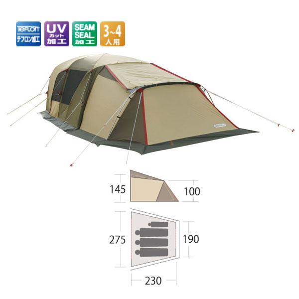 【小川キャンパル】ティエラ 5 アネックス(3514)テント 小川キャンパル テント キャンプ