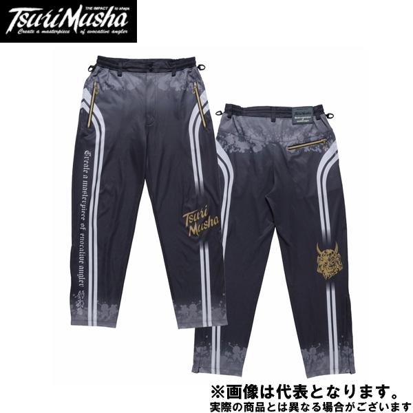 【釣武者】ネオ・インパクトクールパンツ XL ブラック