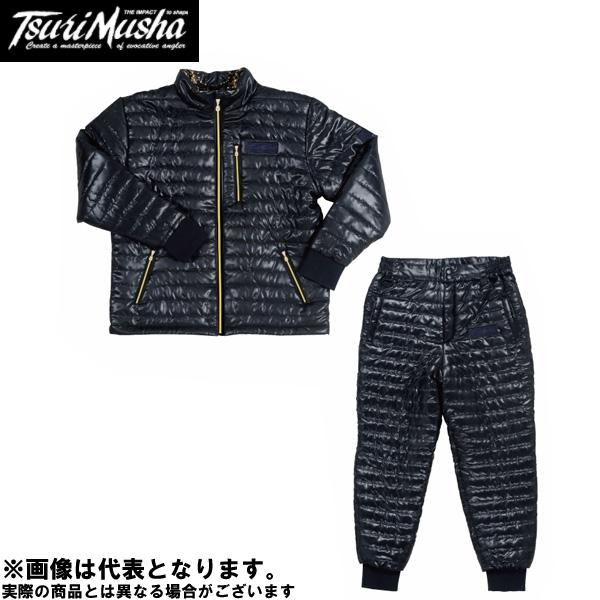 【釣武者】サーモセイバースーツ L ブラック